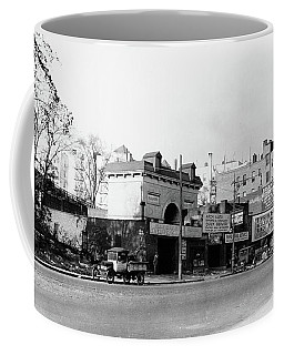 Coffee Mug featuring the photograph Seaman Drake Arch  by Cole Thompson
