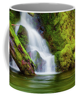Whte Cascade Coffee Mug