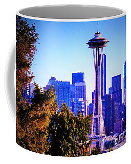 Seattle Afternoon Coffee Mug by Martin Cline