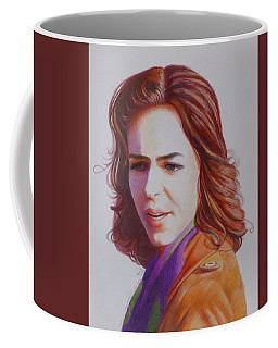 Coffee Mug featuring the painting Self-portrait by Constance DRESCHER