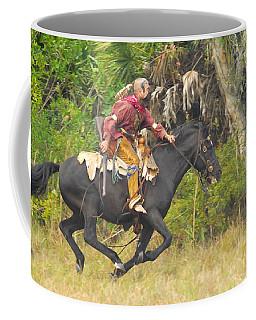 Seminole Indian Warrior Coffee Mug