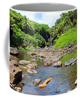 Coffee Mug featuring the photograph Seven Sacred Pools Of Maui by Michael Rucker