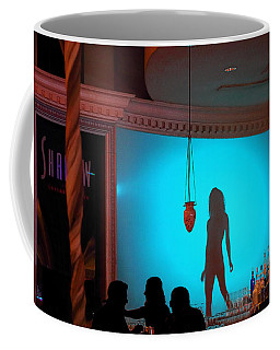 Coffee Mug featuring the photograph Shadow On The Wall by Viktor Savchenko
