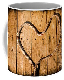Ship Shape Heart  Coffee Mug