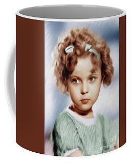 Shirley Temple, Vintage Actress Coffee Mug