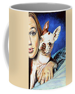 Sierra And Penny Coffee Mug by John Lautermilch