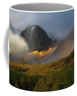 Coffee Mug featuring the photograph Siever's Mountain by Steve Stuller