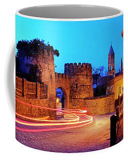 Coffee Mug featuring the photograph Signagi by Fabrizio Troiani