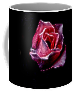 Single Pink Rose Coffee Mug