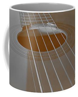 Six Guitar Strings Coffee Mug
