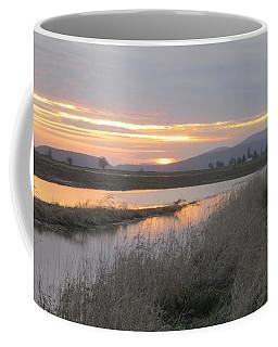 Skagit County Sunset Coffee Mug