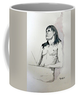 Sketch For White Amber Coffee Mug