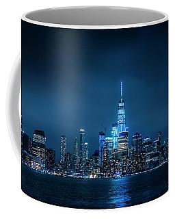 Skyline At Night Coffee Mug
