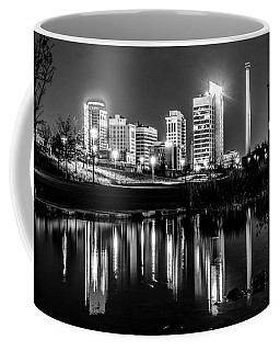 Skyline Of Birmingham Alabama From Railroad Park Coffee Mug