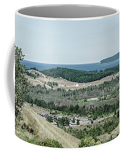 Coffee Mug featuring the photograph Sleeping Bear Dunes National Lakeshore by Alexey Stiop