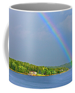 Smith Mountain Lake Rainbow Coffee Mug
