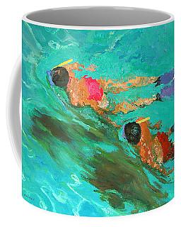 Snorkelers  Coffee Mug
