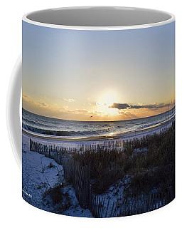 Snow Day At The Beach Coffee Mug