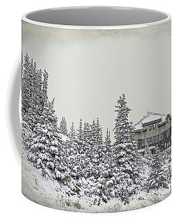 Coffee Mug featuring the photograph Snow In July by Teresa Zieba