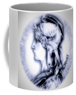 Snowflake 1896 Indochina Coffee Mug by Fred Larucci