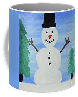 Snowman Coffee Mug by Anthony LaRocca