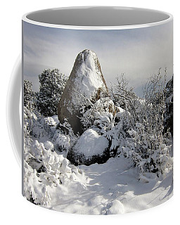 Snow Seal Rock Coffee Mug