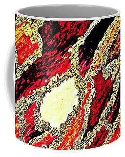 Spirit Journey Through The Fire Coffee Mug by Rachel Hannah