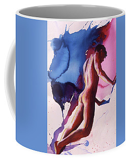 Splash Of Blue Coffee Mug