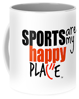 Sports Are My Happy Place Coffee Mug