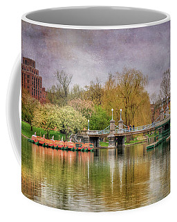 Coffee Mug featuring the photograph Spring In The Boston Public Garden by Joann Vitali