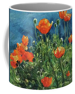 Coffee Mug featuring the painting Spring  by Jieming Wang