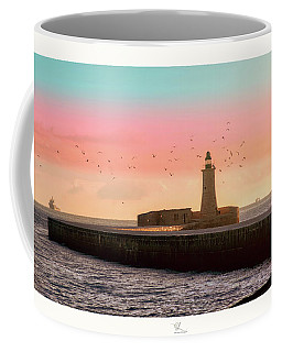 St. Elmo Breakwater Footbridge Coffee Mug
