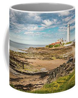 St Mary's Lighthouse Coffee Mug