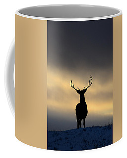 Stag Silhouette  Coffee Mug