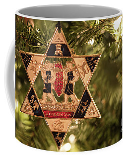Star Of David Ornament Coffee Mug