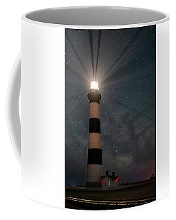 Stars Over Bodie Lighthouse Coffee Mug