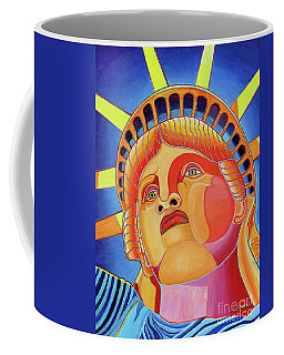 Statue Of Liberty Coffee Mug by Joseph J Stevens