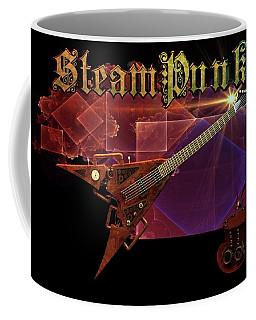 Steampunk Guitar Coffee Mug