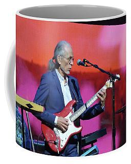 Coffee Mug featuring the photograph Steve Howe From Yes by Melinda Saminski