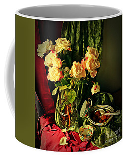 Still Life With Roses- Coffee Mug