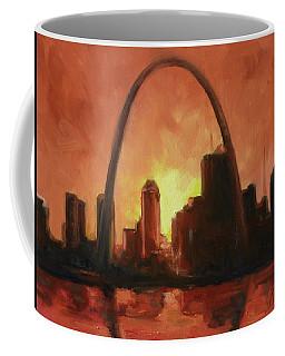 St.louis Downtown - Sunset Coffee Mug