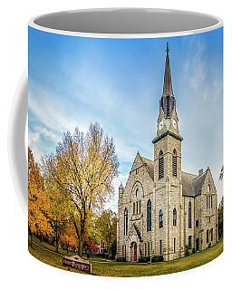 Stone Chapel Fall Coffee Mug