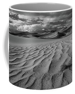 Storm Over Sand Dunes Coffee Mug