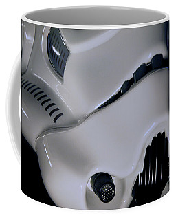 Stormtrooper Helmet 32 Coffee Mug by Micah May