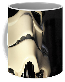 Stormtrooper Helmet 33 Coffee Mug by Micah May