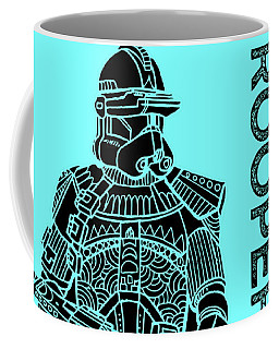 Stormtrooper - Star Wars Art - Blue Coffee Mug