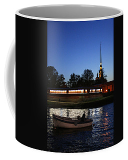 St.petersburg At Night Coffee Mug