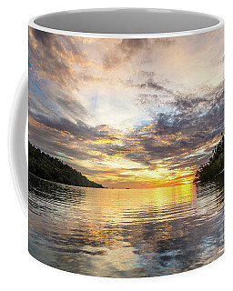 Stunning Sunset In The Togian Islands In Sulawesi Coffee Mug