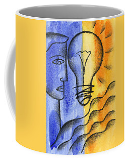 Coffee Mug featuring the painting Success by Leon Zernitsky