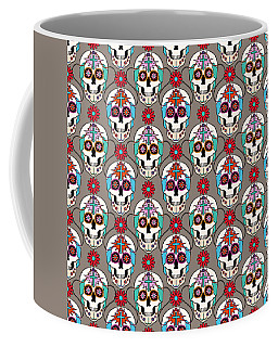 Sugar Skulls Pattern 2 Coffee Mug